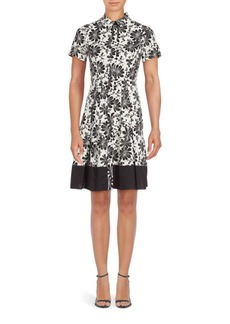 Shoshanna Floral Campbell A-line Dress