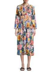 Shoshanna Floral Duster Cover-Up