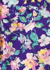 Shoshanna Floral Long-Sleeve Rashguard