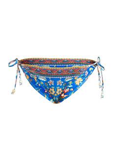 Shoshanna Floral Print Triangle Bikini Bottom