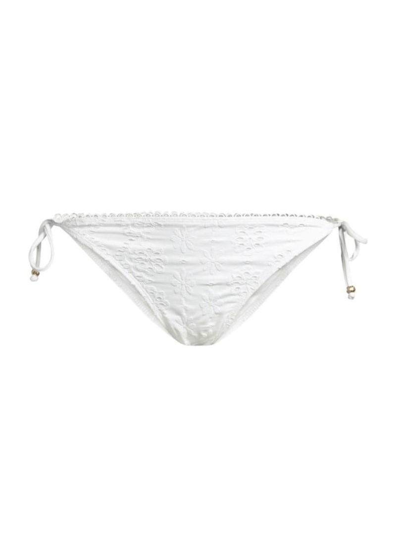 Shoshanna Floral Triangle Bikini Bottoms
