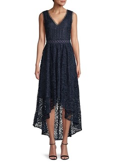 Shoshanna Lace High-Low Dress