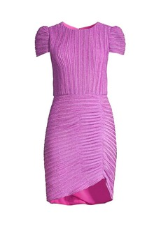 Shoshanna Leanna Pleated Ruched Dress