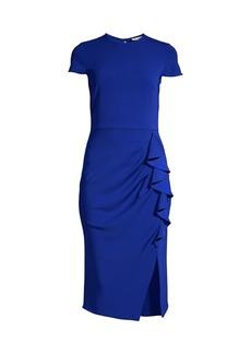 Shoshanna Lumilla Ruffle Cascade Dress