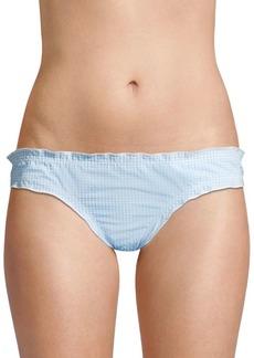 Shoshanna Maya Ruffle Bikini Bottom
