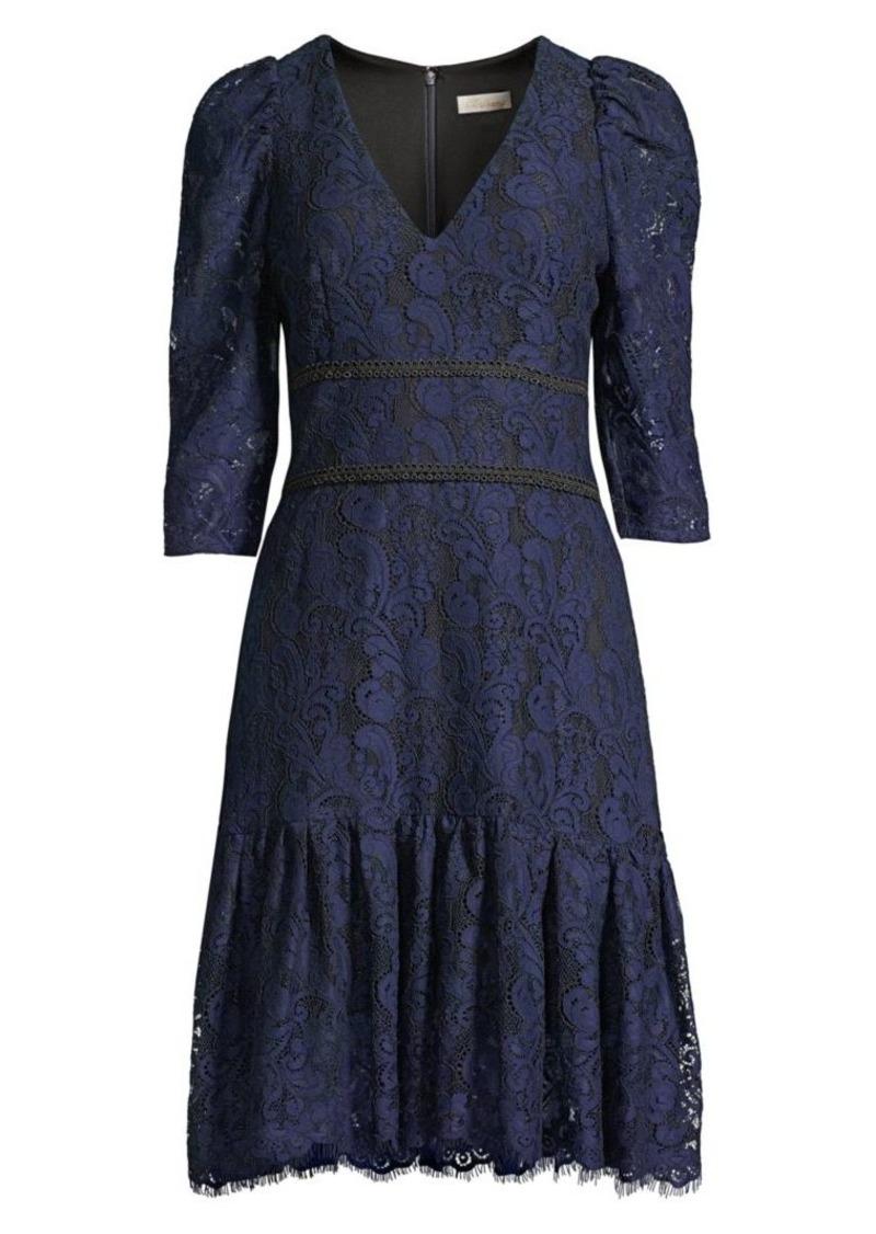 Shoshanna Miran Paisley Lace Dress