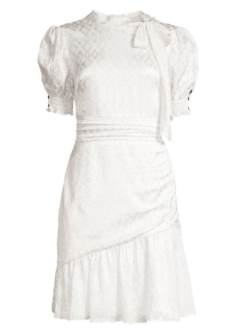 Shoshanna Mischa Puff Sleeve Dress