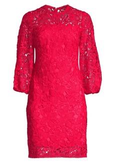 Shoshanna Nisa Lace Sheath Dress