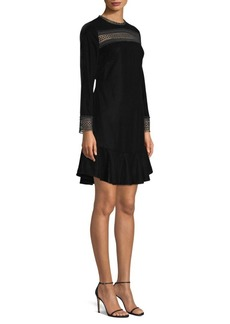 Shoshanna Pembroke Velvet Dress