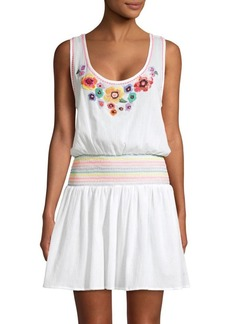 Shoshanna Rainbow Tank Dress