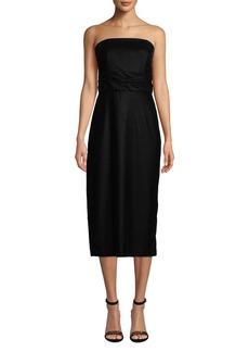29f2c02666b46a Shoshanna Roxford Strapless Velvet Dress