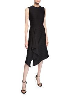 Shoshanna Sabina Striped Sleeveless Dress