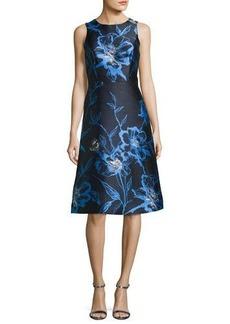 Shoshanna Bellevue Sleeveless Cocktail Dress