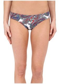 Shoshanna Capri Paisley Hipster Bottoms
