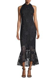 Carmina Hi-Lo Lace Dress