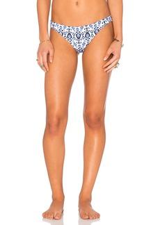 Shoshanna Caspian Ikat Classic Bikini Bottom