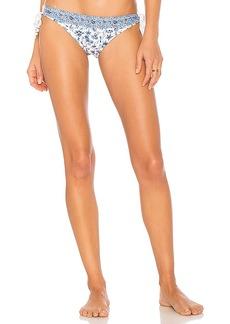 Shoshanna Chambray Paisley Bikini Bottom