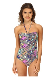 Shoshanna Cinch One-Piece