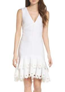 Shoshanna Cooper Tiered Dress