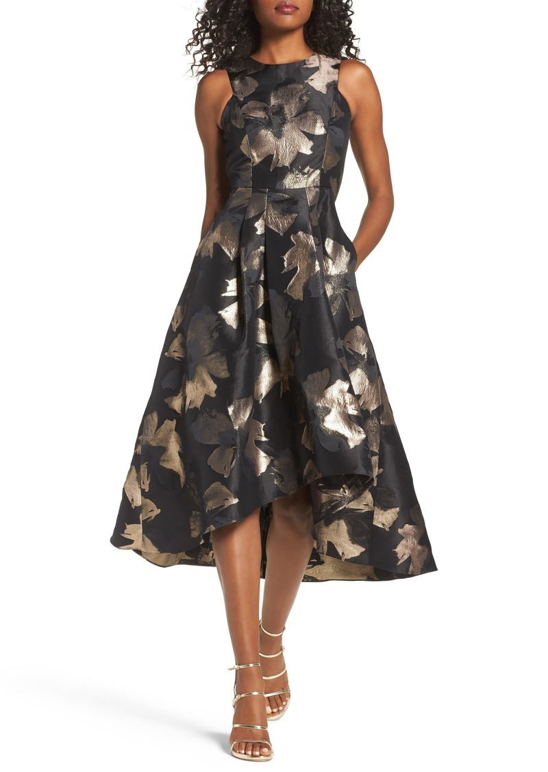 Shoshanna Shoshanna Coraline Brocade High/Low Gown Now $428.98