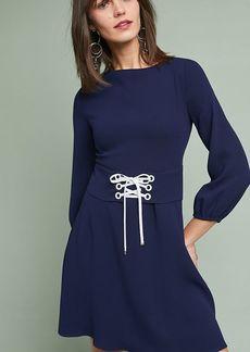 Shoshanna Corset-Tied Dress