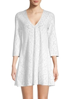 Shoshanna Eyelet Shift Dress