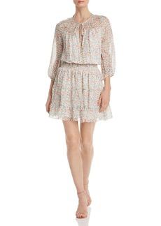 Shoshanna Floraison Bonne Silk Dress