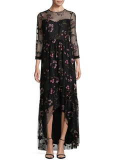 Shoshanna Floral Essich Dress