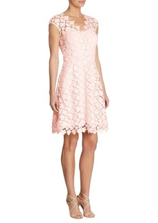 Shoshanna Floral Lace Dress