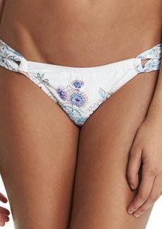 Shoshanna Floral-Print Looped Swim Bottom