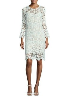 Shoshanna Jemima Floral Lace Sheath Dress
