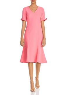 Shoshanna Laney Textured Cr�pe Dress