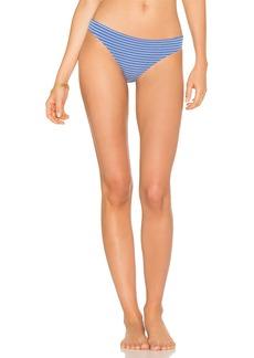 Marine Eyelet Stripe Bikini Bottom