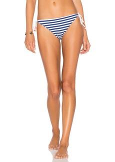 Shoshanna Marine Stripe String Bikini Bottom