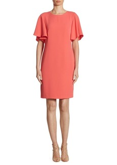 Shoshanna Mayberry Ruffled Sleeve Dress