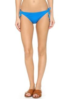 Shoshanna Mesh String Bikini Bottoms