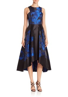 Shoshanna MIDNIGHT Coraline Hi-Lo Dress