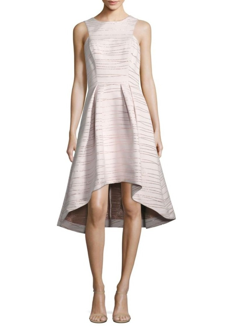2ad7d8a85ce7 Shoshanna Shoshanna MIDNIGHT Coraline Metallic Jacquard Dress | Dresses