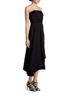 Shoshanna MIDNIGHT Strapless Estella Dress