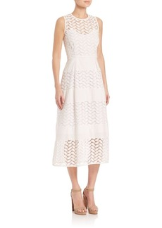 Shoshanna Monica Lace A-line Dress