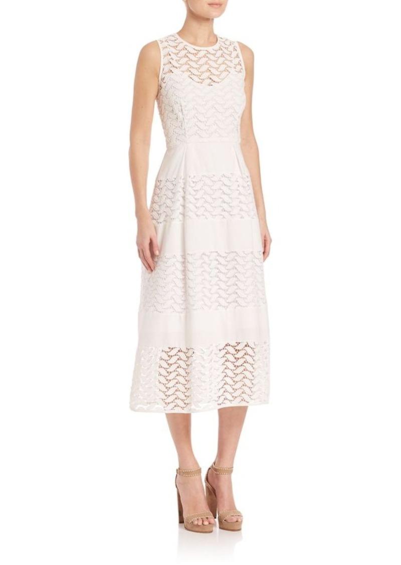 Shoshanna Monica Lace A-line Dress