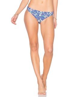 Shoshanna Mosaic Floral Bikini Bottom