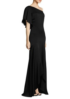 One-Shoulder Hi-Lo Gown