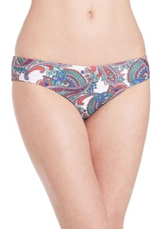 Shoshanna Paisley Swim Bottom