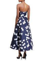 5571c4fb17b ... Shoshanna Paladino Floral Brocade High-Low Cocktail Dress