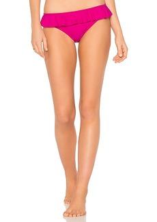 Shoshanna Ruffle Bikini Bottom