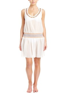 Shoshanna Shoshanna Cover-Up Embellished D...
