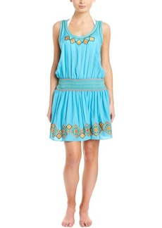 Shoshanna Shoshanna Cover-Up Embroidered D...