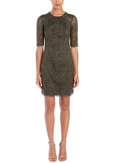 Shoshanna Shoshanna Lace Sheath Dress