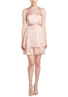 Shoshanna Shoshanna Silk-Blend A-Line Dress